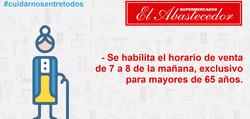 Cupón El Abastecedor en Berazategui ( Caduca mañana )