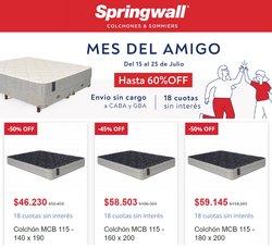 Ofertas de Muebles y Decoración en el catálogo de Springwall ( 7 días más)