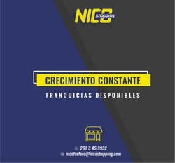 Ofertas de Nico Shopping en el catálogo de Nico Shopping ( Vencido)