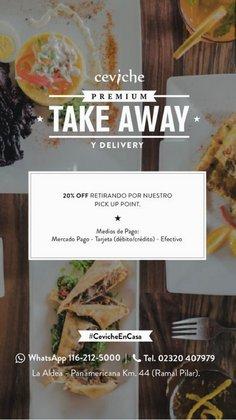 Ofertas de Restaurantes en el catálogo de Ceviche ( 17 días más)