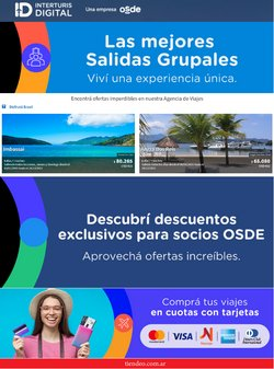 Ofertas de Interturis en el catálogo de Interturis ( Vencido)