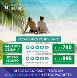 Ofertas de Viajes  en el folleto de Interturis en Sarandí