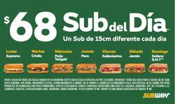 Ofertas de Subway  en el folleto de Castelar
