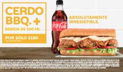 Ofertas de Restaurantes  en el folleto de Subway en Capitán Bermúdez