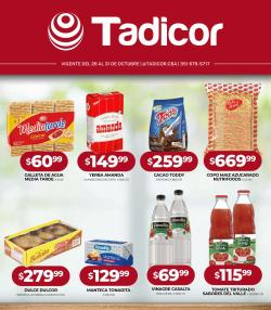 Catálogo Supermercados Tadicor ( Publicado ayer)