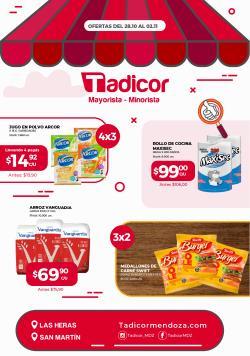 Ofertas de Supermercados Tadicor en el catálogo de Supermercados Tadicor ( Publicado hoy)