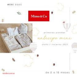 Catálogo Mimo & Co ( Más de un mes )