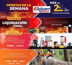 Ofertas de Ekkon en el catálogo de Ekkon ( Más de un mes)