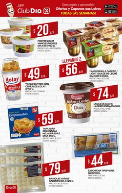 Ofertas de Flan en Supermercados DIA