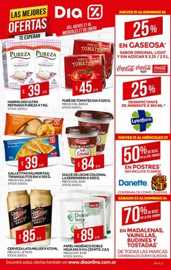 Catálogo Supermercados DIA en Libertador General San Martín (Jujuy) ( Caduca mañana )