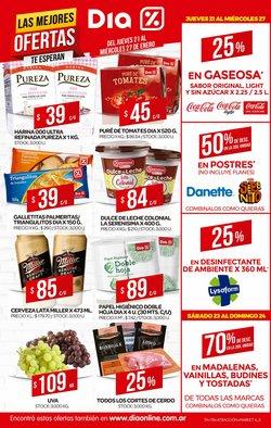Ofertas de Gaseosas en Supermercados DIA