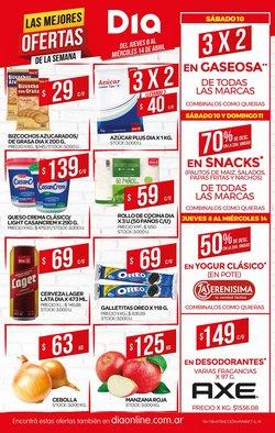 Ofertas de Hiper-Supermercados en el catálogo de Supermercados DIA en Lanús ( Caduca mañana )