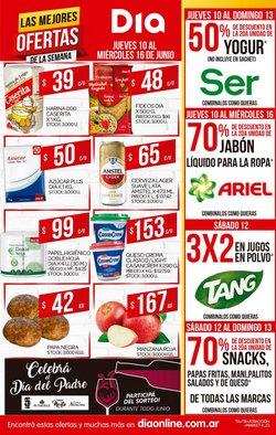 Ofertas de Supermercados DIA en el catálogo de Supermercados DIA ( Vence hoy)