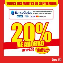 Ofertas de Dia  en el folleto de La Plata