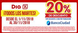 Ofertas de Hiper-Supermercados  en el folleto de Dia en Chascomús