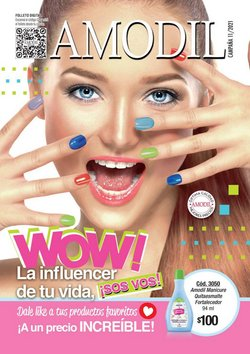 Ofertas de Perfumería y Maquillaje en el catálogo de Amodil ( 11 días más)
