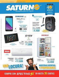 Ofertas de Tablet  en el folleto de Saturno en Neuquén