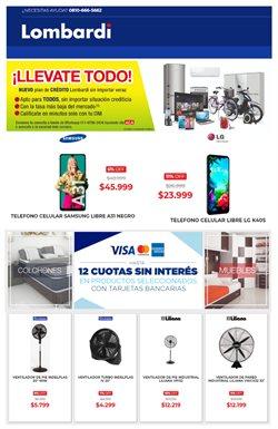 Ofertas de Electrónica y Electrodomésticos en el catálogo de Lombardi en Campana ( 8 días más )