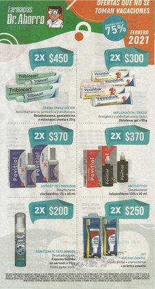 Ofertas de Farmacias y Ópticas en el catálogo de Farmacias del Dr Ahorro en Martínez ( Caduca mañana )