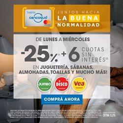 Ofertas de Bancos y Seguros en el catálogo de Tarjeta Cencosud en Caleta Olivia ( 8 días más )