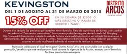 Ofertas de Kevingston  en el folleto de Buenos Aires