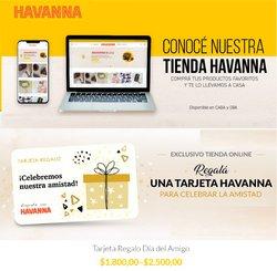 Catálogo Havanna ( 6 días más)