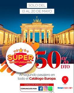 Ofertas de Viajes  en el folleto de Coopeviajes.com en Tortuguitas