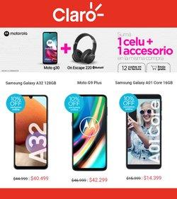 Ofertas de Electrónica y Electrodomésticos en el catálogo de Claro ( 2 días más)