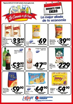 Catálogo Cooperativa Obrera en San Fernando ( Caducado )