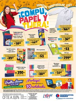 Ofertas de mochilas escolares en el catálogo de Cooperativa Obrera ( Vence mañana)