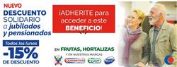 Ofertas de Cooperativa Obrera  en el folleto de Neuquén