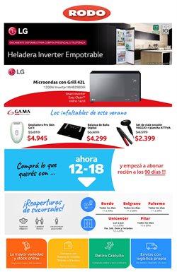 Ofertas de Electrónica y Electrodomésticos en el catálogo de Rodo en Berazategui ( Publicado hoy )