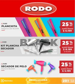 Ofertas de Electrónica y Electrodomésticos en el catálogo de Rodo ( 7 días más)