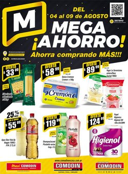 Ofertas de Hiper-Supermercados en el catálogo de Supermercados Comodin ( Publicado hoy)