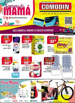 Ofertas de Supermercados Comodin en el catálogo de Supermercados Comodin ( Vence mañana)