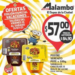 Ofertas de Supermercados Malambo en el catálogo de Supermercados Malambo ( 6 días más)