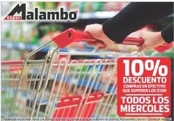 Ofertas de Supermercados Malambo  en el folleto de Gualeguaychú