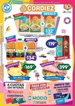 Catálogo Cordiez en Córdoba ( 3 días más )