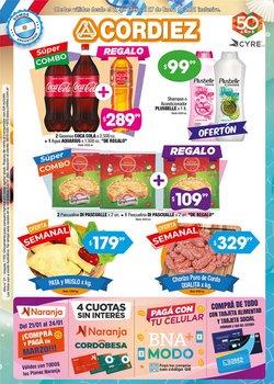 Ofertas de Hiper-Supermercados en el catálogo de Cordiez en Villa Carlos Paz ( 2 días publicado )