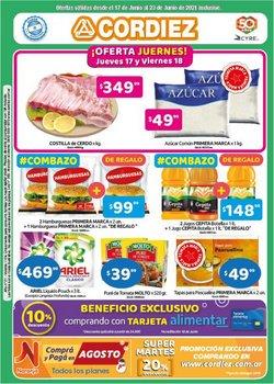 Ofertas de Cordiez en el catálogo de Cordiez ( Vence hoy)