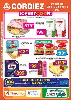 Ofertas de Hiper-Supermercados en el catálogo de Cordiez ( Publicado ayer)
