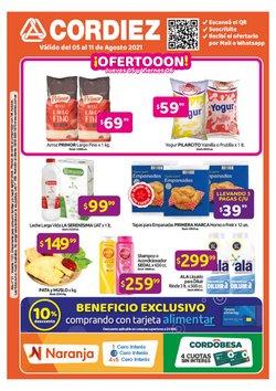 Ofertas de Hiper-Supermercados en el catálogo de Cordiez ( Publicado hoy)