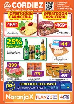 Ofertas de Cordiez en el catálogo de Cordiez ( 2 días más)