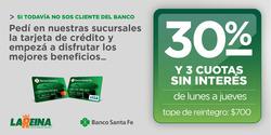Ofertas de Supermercados La Reina  en el folleto de Rosario