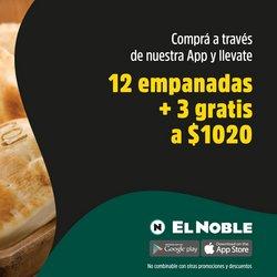 Ofertas de Restaurantes en el catálogo de El Noble ( Vence mañana)