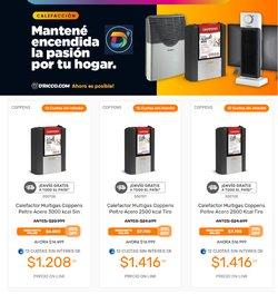 Ofertas de Electrónica y Electrodomésticos en el catálogo de DRicco ( Publicado hoy)