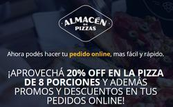 Cupón Almacén de Pizzas en Lomas de Zamora ( Caduca mañana )