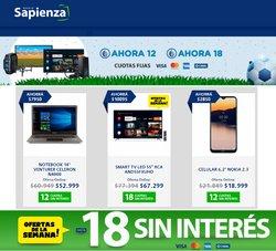 Ofertas de Electrónica y Electrodomésticos en el catálogo de Radio Sapienza ( 12 días más)