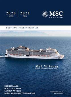 Catálogo MSC Cruceros en Belgrano (Buenos Aires) ( Más de un mes )
