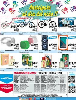 Ofertas de Smart tv  en el folleto de Maxiconsumo en Corrientes